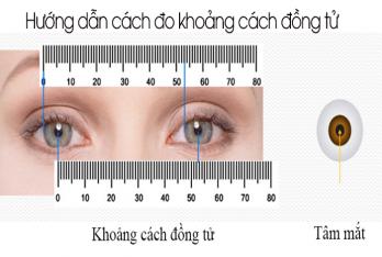 Hướng dẫn cách đo khoảng cách đồng tử