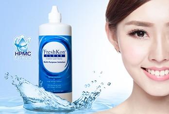 FreshKon là nhãn hiệu kính áp tròng thẩm mỹ của Singapore