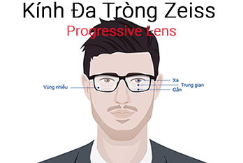 Kính đa tròng Zeiss Progressive Lens
