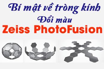 Bí mật về tròng kính đổi màu Zeiss PhotoFusion