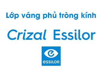 Lớp váng phủ tròng kính Crizal Essilor