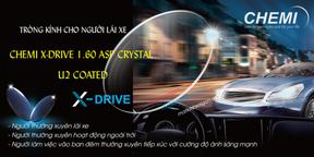 TRÒNG KÍNH CHO NGƯỜI LÁI XE CHEMI X-DRIVE 1.60 ASP CRYSTAL U2