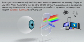 Tròng Kính Ziees 1.56 Dura Vision Blue Protect UV