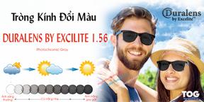 Tròng Kính Đổi Màu Thái Lan Excelite 1.56