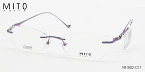 Gọng Kính Khoan MITO MT1802-C11