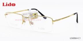 GỌNG KÍNH NAM B-Titanium LIDO LD6006H-C1
