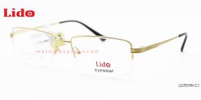GỌNG KÍNH NAM B-Titanium LIDO LD7019H-C1