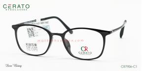 Gọng Kính Nhựa Ultem Cerato CR7906 C1
