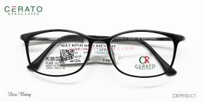 Gọng Kính Nhựa Ultem Cerato CR7910 C1