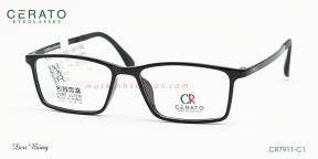 Gọng Kính Nhựa Ultem Cerato CR7911 C1