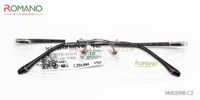 Gọng Kính Khoan Romano RM52098 C3