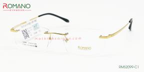 Gọng Kính Khoan Romano RM52099 C1