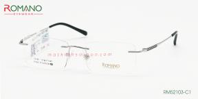 Gọng Kính Khoan Romano RM52103 C3