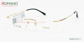 Gọng Kính Khoan Romano RM52109 C1