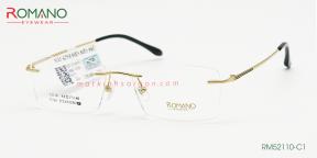 Gọng Kính Khoan Romano RM52110 C1