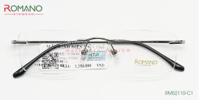 Gọng Kính Khoan Romano RM52110 C2