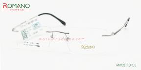 Gọng Kính Khoan Romano RM52110 C3