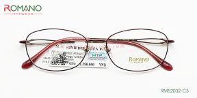 Gọng Kính Nữ Romano RM52032 C3