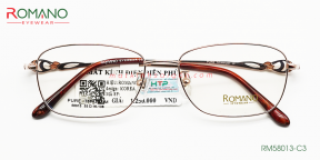 Gọng Kính Nữ Romano RM58013 C3