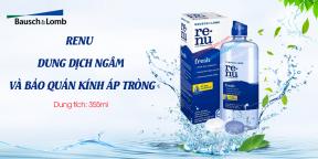 Dung Dich Ngâm Kính Bảo Quản Áp Tròng RENU 355ml