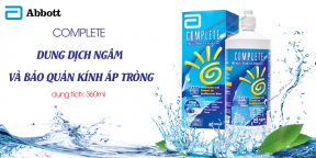 Dung Dich Bảo Quản Áp Tròng Complete Easy Rub 360ml