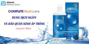 Dung Dich Bảo Quản Áp Tròng Complete Revita Lens 300ml
