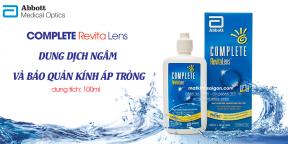 Dung Dich Bảo Quản Áp Tròng Complete Revita Lens 100ml