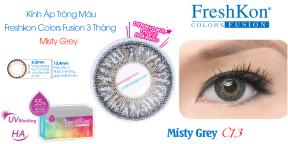 Kính Áp Tròng Freshkon Colors Fusion 3 Tháng Misty Grey C13