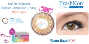 Kính Áp Tròng Freshkon Colors Fusion 3 Tháng Warm Hazel C10