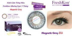 Kính Giãn Tròng Freshkon Alluring Eyes Magnetic Grey B4