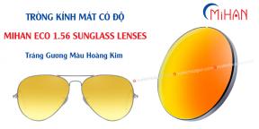 Tròng Kính Mát Có Độ Màu Hoàng Kim MIHAN ECO 1.56