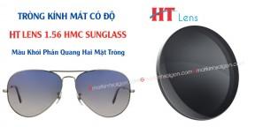 Tròng Kính Mát Có Độ Màu Khói HL Lens HMC 1.56