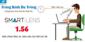 TRÒNG KÍNH ĐA TRÒNG ESSILOR 1.56 SMART LENS