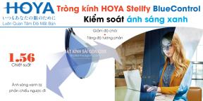 TRÒNG KÍNH KIỂM SOÁT ÁNH SÁNG XANH HOYA BLUE CONTROL 1.56