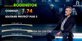 TRÒNG KÍNH RODENSTOK COSMOLIT 1.74 SOLITAIRE PROTECT PLUS 2