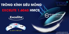 TRÒNG KÍNH SIÊU MỎNG EXCELITE 1.60AS HMCS