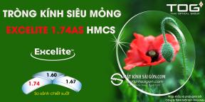 TRÒNG KÍNH SIÊU MỎNG EXCELITE 1.74AS HMCS