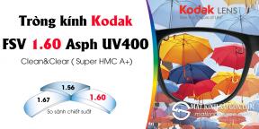 TRÒNG KÍNH Kodak FSV 1.60 Asph UV400