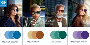 Tròng kính Đổi Màu 1.50 Essilor Trasitions Gen 8™ Style Colors