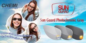Tròng Kính Đổi Màu Chemi U2 Sun Guard Photochromic Gray