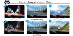 TRÒNG KÍNH CHEMI X-DRIVE 1.60 ASP CRYSTAL U2 COATED