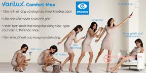 Tròng Kính Đa Tròng 1.56 Essilor Varilux Comfort Max