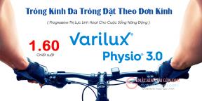 Tròng Kính Đa Tròng 1.60 Essilor Varilux Physio 3.0